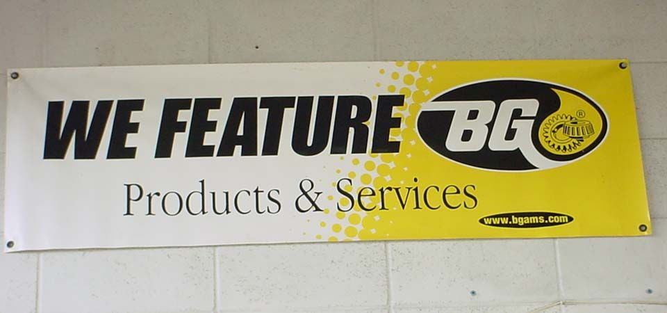 We Feature BG Products & Services